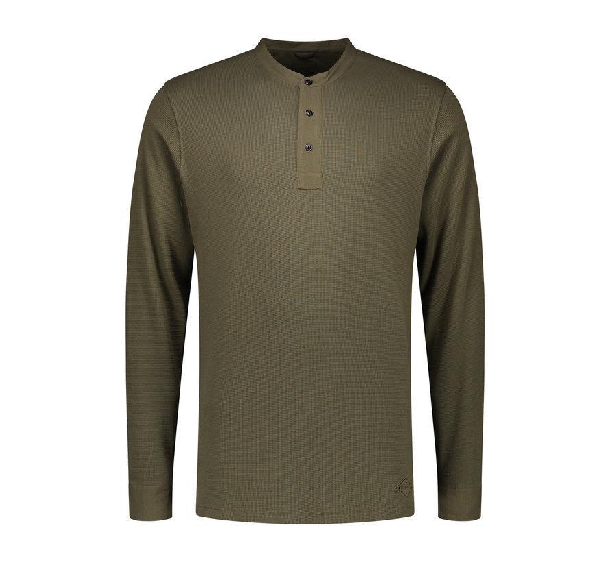 Long Sleeve T-shirt Army Green (202412 - 511)