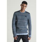CHASIN' Frenk Sweater Mid Blauw (3111400035-E64)