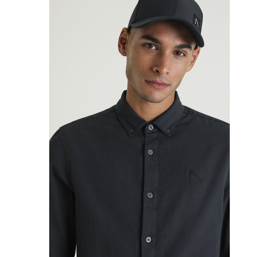 Newton .L Todd Overhemd Zwart (6111400029-E90)