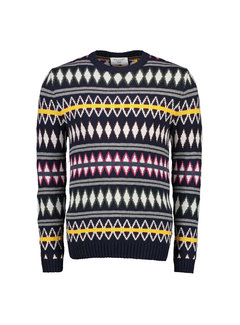 New In Town Sweater Close-Fitting Navy (8985040 - 493)