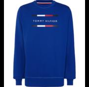 Tommy Hilfiger Sweater Ronde Hals Cobalt Blauw (MW0MW11603 - CKB)