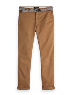 Scotch & Soda Chino Stuart met Riem Khaki (150953 - 0414)
