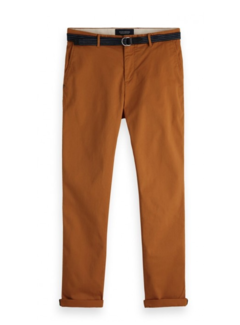 Scotch & Soda Chino Stuart met Riem Burnt Orange (150953 - 2016)