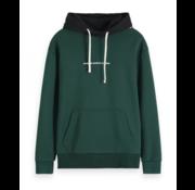 Scotch & Soda Hooded Sweater Groen (152239 - 0217)