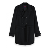 Scotch & Soda Trench Coat Wol Navy (151990 - 0002)