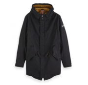 Scotch & Soda Parka Classic Zwart (151999 - 0008)