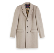Scotch & Soda Coat Wol Beige (151987 - 0610)