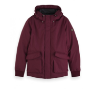 Scotch & Soda Winterjas met Capuchon Bordeaux (152030 - 0177)