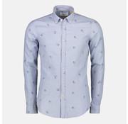 New In Town Lange Mouw Overhemd Licht Blauw (8991129--405)