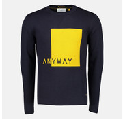 New In Town Pullover Close Fitting Navy (8995025-494)