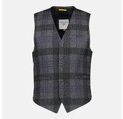 New In Town Gilet Close Fitting Antraciet (8997313-272)