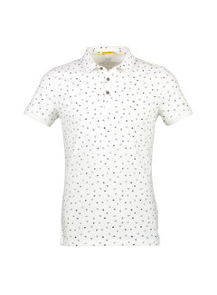 New In Town Polo Close Fitting Wit Print (8923264-104)