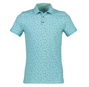 New In Town Polo Close Fitting Blauw (8923264-416)