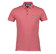 New In Town Polo Close Fitting Pale Roze (8943272-324)