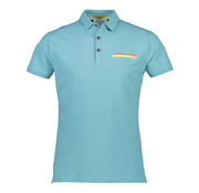 New In Town Polo Close Fitting Colorado Blauw (8943272-434)