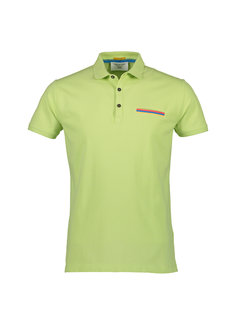 New In Town Polo Close Fitting Geel (8943272-610)