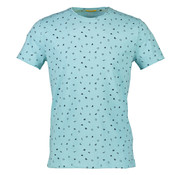 New In Town T-Shirt Close Fitting Licht Blauw (8923063-416)