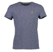 New In Town T-Shirt Close Fitting Indigo Blauw (8923053-483)