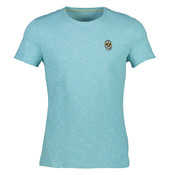 New In Town T-Shirt Close Fitting Colorado Blauw (8923053-434)