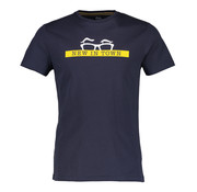 New In Town T-Shirt Close Fitting Navy (8923031-494)