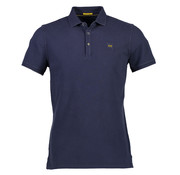 New In Town Polo Close Fitting Night Blauw (8923259-494)