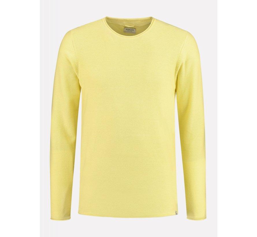 Sweater Structuur Geel (404234 - 330)