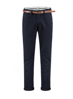 Dstrezzed Chino met Riem Presley Loose Fit Dark Navy (501328 - 649)
