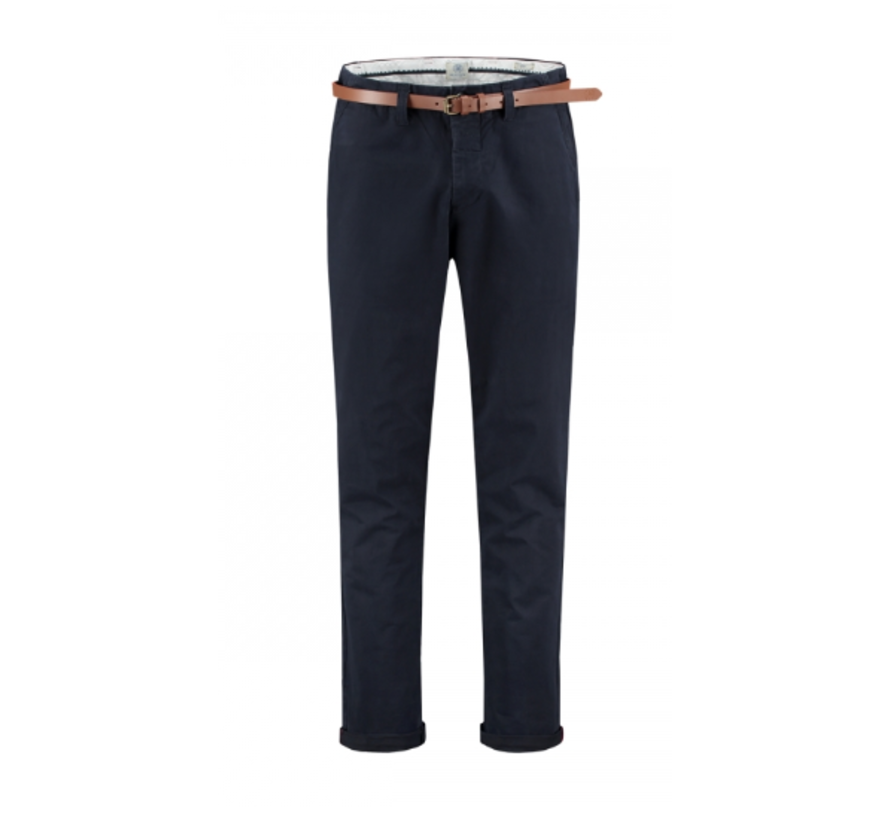Chino met Riem Presley Loose Fit Dark Navy (501328 - 649)