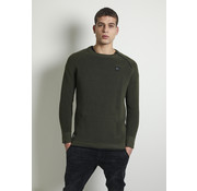 CHASIN' Longsleeve Sweater Taleb Groen (4111400035-E50)