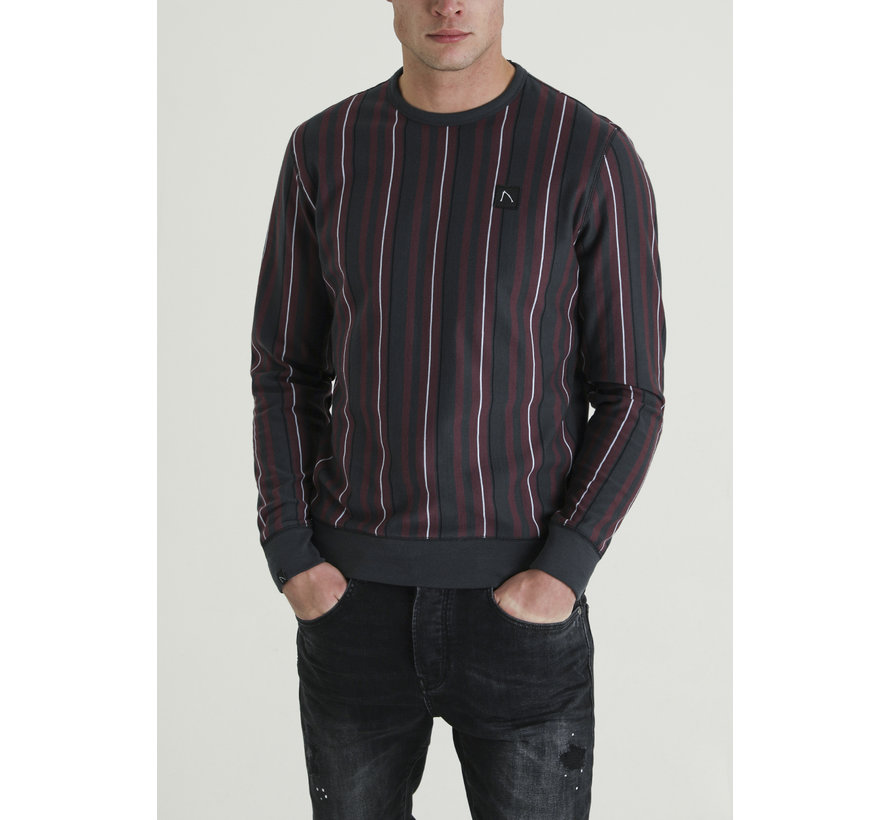 Longsleeve Sweater Micky Bordeaux (4111400044-E41)