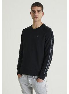 CHASIN' Longsleeve Sweater Low Sport Zwart (4111400045-E90)