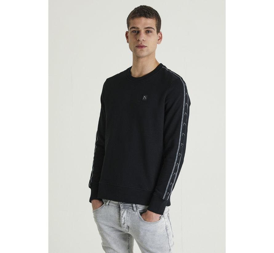Longsleeve Sweater Low Sport Zwart (4111400045-E90)