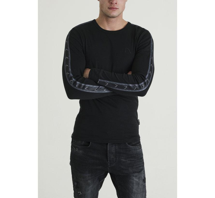 Longsleeve Sweater Damian Zwart (5111400038-E90)