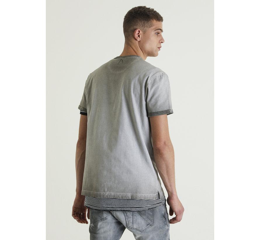 T-shirt Arnold Antraciet (5211400094-E80)