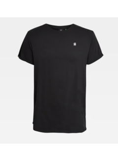G-star T-shirt Ronde Hals Zwart Met Logo (D16396 - B353 - 6484)