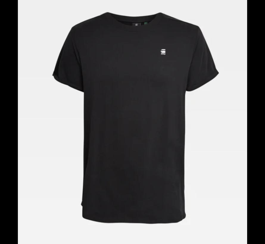 T-shirt Ronde Hals Zwart Met Logo (D16396 - B353 - 6484)