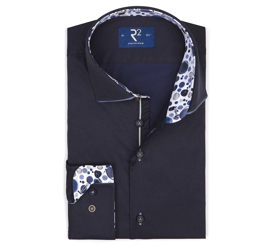 Overhemd Navy (107.WSP.011 - 010)
