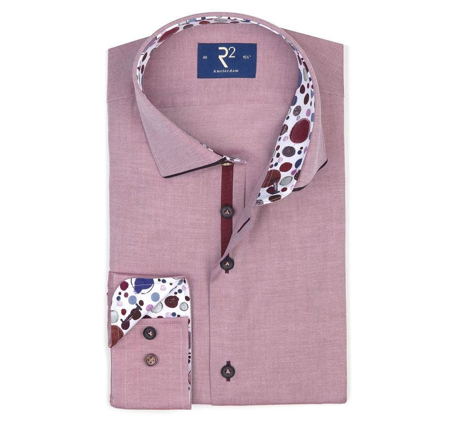 Overhemd Bordeaux (107.WSP.014 - 080)