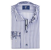 R2 Amsterdam Overhemd Blauw (107.WSP.026 - 014)