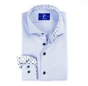 R2 Amsterdam Overhemd Fine Twill Blauw (107.WSP.049 - 018)