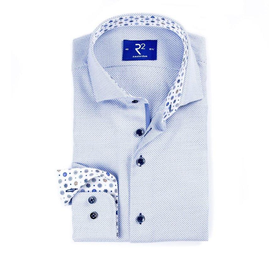 Overhemd Fine Twill Blauw (107.WSP.049 - 018)