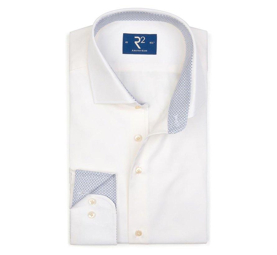 Overhemd Fine Twill Beige (107.WSP.050 - 045)