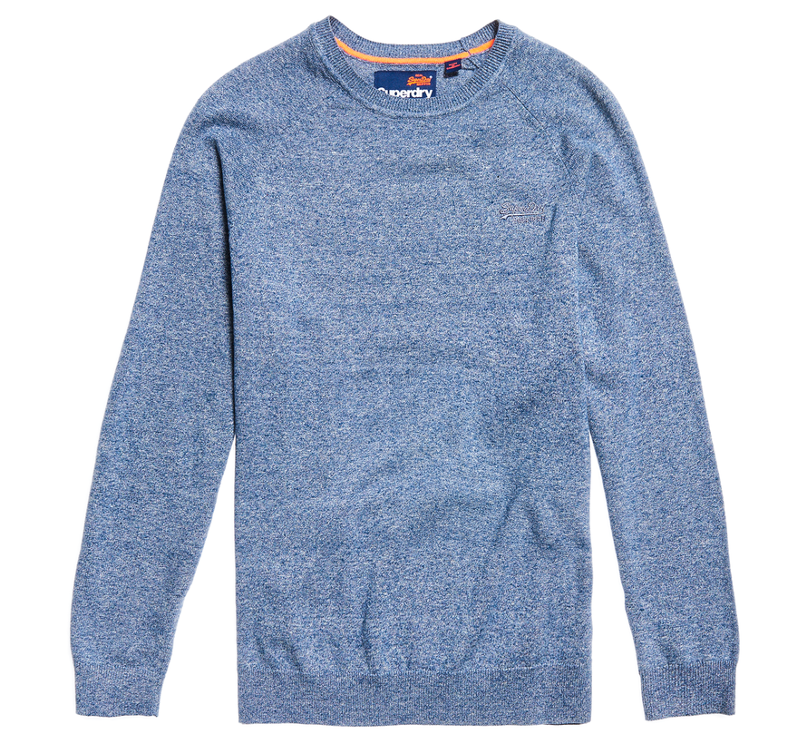 OL Cotton Crew Sweater Blauw (M6100040A - 1SM)