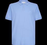 Calvin Klein Polo Pique Slim Fit Licht Blauw (K10K102758 - CK2)