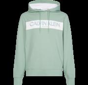 Calvin Klein Hooded Sweater Met Logo Groen (K10K105151 - LFG)