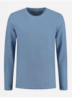 Dstrezzed Sweater Structuur Blauw (404234 - 625)