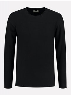 Dstrezzed Sweater Structuur Zwart (404234 - 999)