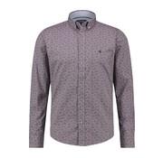 Haze&Finn Overhemd Print Paars (MC13-0110-03 - TulpwoodPaisley)