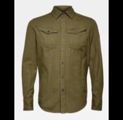 G-star Denim Overhemd Lange Mouw Groen (D16861-7647-724)