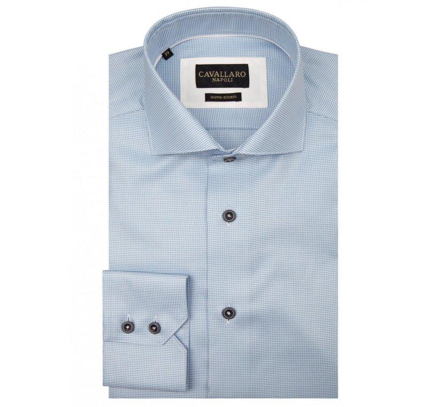 Overhemd Giulio Ruit Blauw (1001011 - 10613)